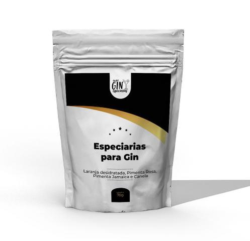 Imagem de Especiarias Para Gin Tônica Refil - Laranja, Canela, Pimenta