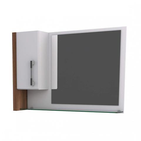 Imagem de Espelheira para Banheiro 1 Porta Legno Compace