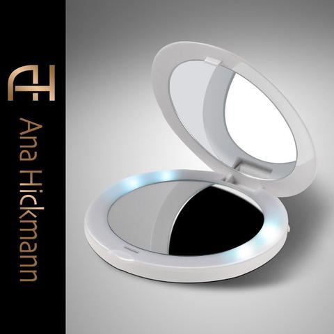 Imagem de Espelho de Bolsa com Led Relaxbeauty Pocket Mirror USB