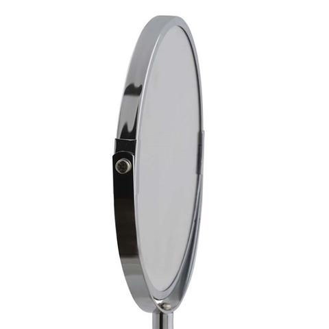 Imagem de Espelho de Mesa Dupla Face Redondo 5'' c/ Pedestal 15Cm Wellmix