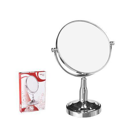 Imagem de Espelho Dupla Face com Pedestal 7 Polegadas