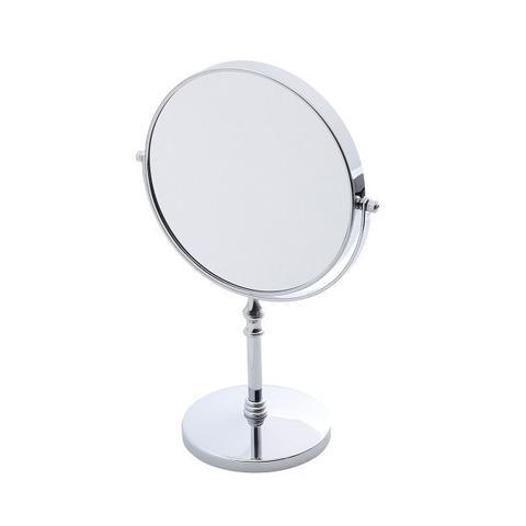 Imagem de Espelho Duplo 35cm Para Banheiro Ferro Cromado Prestige - R25779