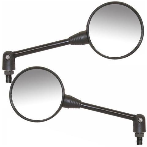Imagem de Espelho Micro Par Retrovisor Articulado 90 Graus Universal Moto Honda (24938)