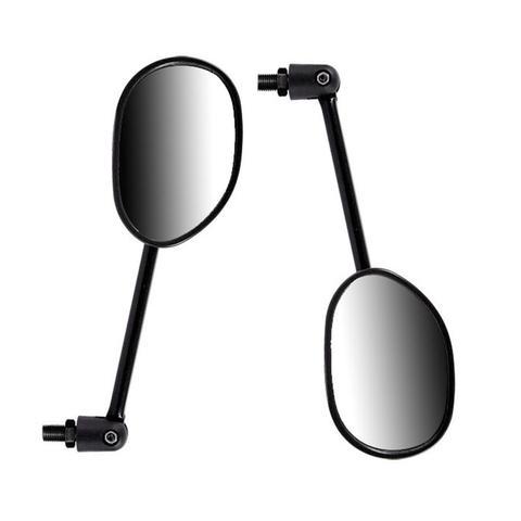 Imagem de Espelho Par Retrovisor Mini Articulado Biz 125 Bros 09 Moto Serve Em Todas Honda