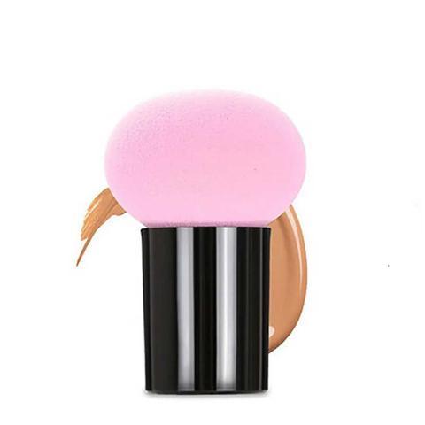 Imagem de Esponja Facial para Maquiagem Base Corretivo Blush Cogumelo