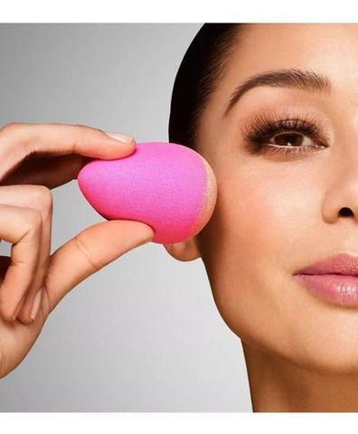 Imagem de Esponja Maquiagem Tipo Blender P/ Base Corretivo Gota Macia