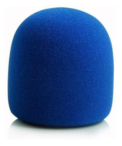 Imagem de Espuma Para Microfone De Mão Sm58 Azul