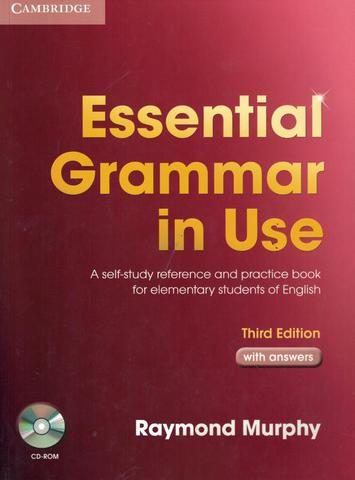 Imagem de Essential grammar in use with answers and cd-rom - 3rd ed - Cambridge University