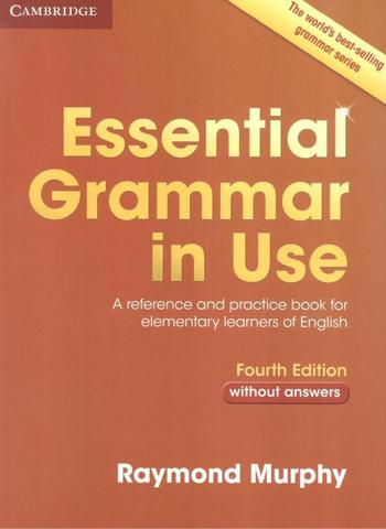 Imagem de Essential grammar in use without answers - 4th ed