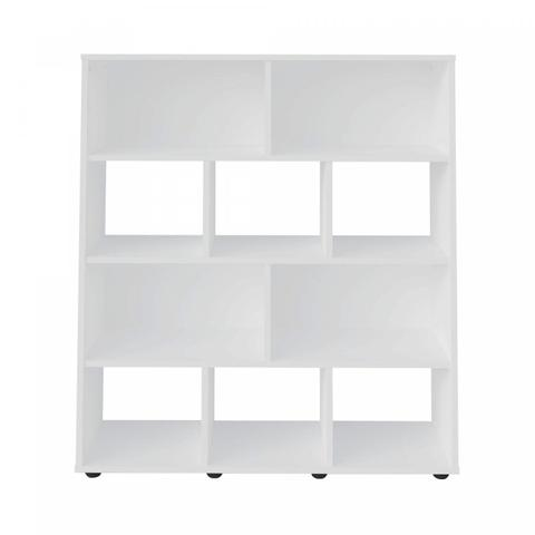 Imagem de Estante para Livros com 10 Nichos Artely Branco