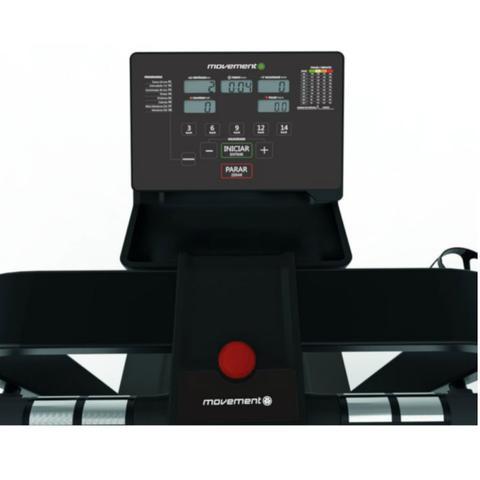 Imagem de Esteira Elétrica Movement R7 127V 8 Programas de Treino Display LCD Capacidade 120Kg