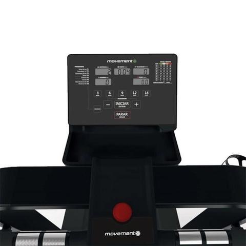 Imagem de Esteira Elétrica Movement R7 8 Programas de Treino Display LCD Capacidade 120Kg 127V PRE