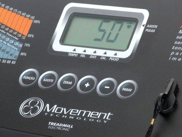 Imagem de Esteira Ergométrica Elétrica Movement Master 110/2