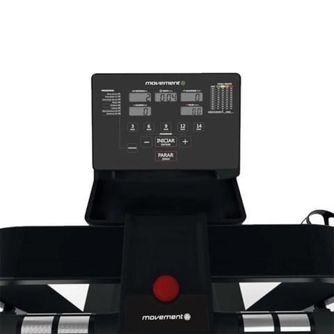 Imagem de Esteira Ergométrica Elétrica Movement R7+ com Display LCD Preto 127V