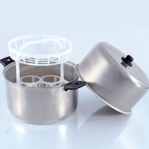 Imagem de Esterilizador de Mamadeiras de Alumínio com Capacidade para 7 Mamadeiras - Whoop