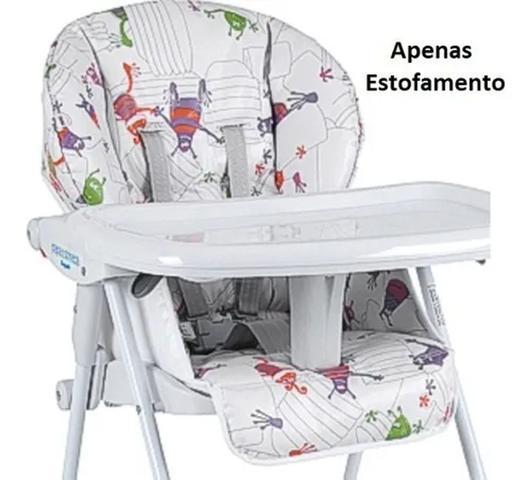 Imagem de Estofado Cadeira Papa Soneca Monstrinho Burigotto 3047