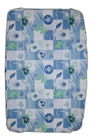Imagem de Estofado Capa Banheira Splash Burigotto Peixinho Azul