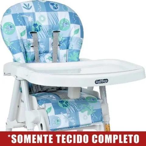 Imagem de Estofado Peixinhos Azul Cadeira Merenda Burigotto - Original