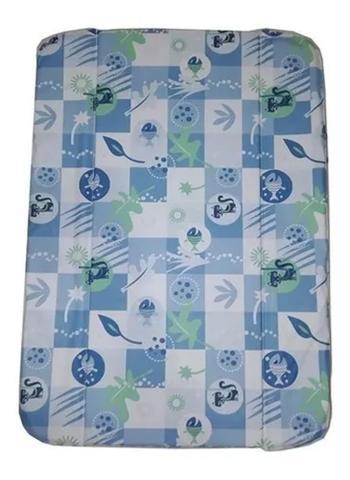 Imagem de Estofado Trocador Da Banheira Millenia Peixe Azul Burigotto