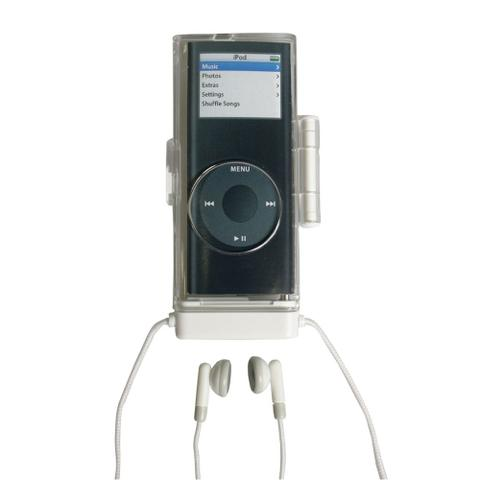 Imagem de Estojo em acrílico com fone de ouvido para iPod Nano 2ª geração