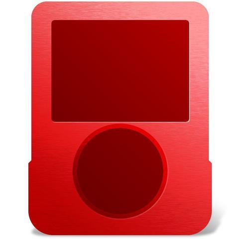 Imagem de Estojo Em Aluminio Ipod Nano 18388Ip Vermelho I-Concepts