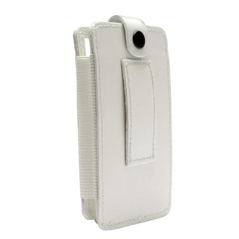 Imagem de Estojo em couro na cor branca para iPod 30 e 60 GB