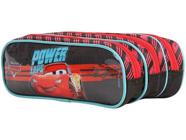 Imagem de Estojo Escolar Triplo com Zíper Disney Pixar