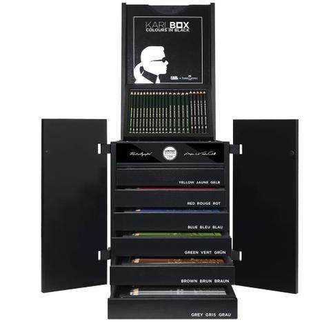 Imagem de Estojo Faber-Castell Edição Limitada KARLBOX com 350 Instrumentos Artísticos