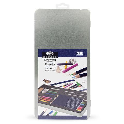 Imagem de Estojo Para Colorir Royal  Langnickel  Em Metal com 32 Peças  RSET-ART2407-3T
