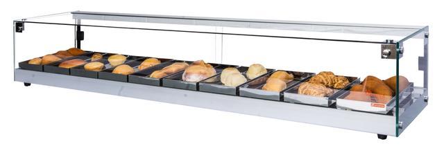 Imagem de Estufa Beta para salgados de 10 bandejas Prata - Omega