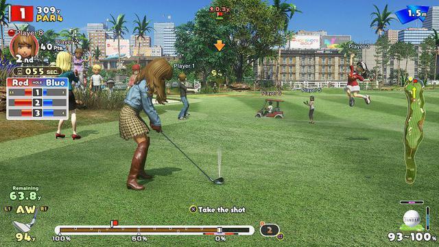 Imagem de Everybodys Golf Mídia Física Original PS4 Lacrado