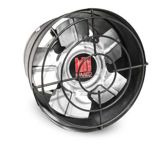 Imagem de Exaustor 20cm 200mm Alta Vazão Para Churrasqueiras Coifas Bivolt Com Motor Blindado Alta Temperatura