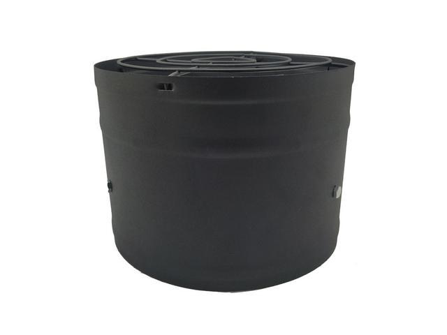 Imagem de Exaustor 25cm Alta Vazão Para Churrasqueiras Motor Blindado Bivolt