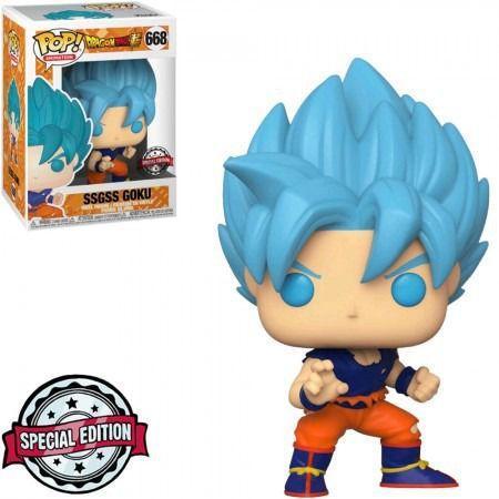 Imagem de Exclusivo - SSGSS Goku 668 - Dragon Ball Super  - Funko Pop