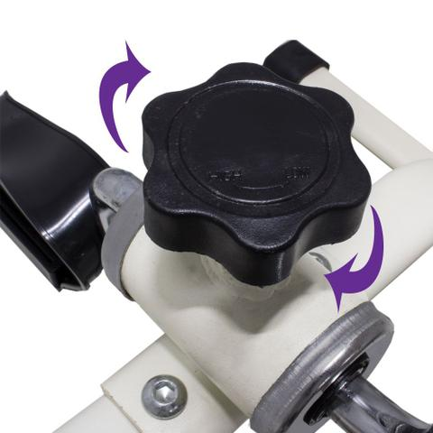 Imagem de Exercitador Pedal Cicloergômetro Reabilitação Braços e Pernas  Lorben GT371