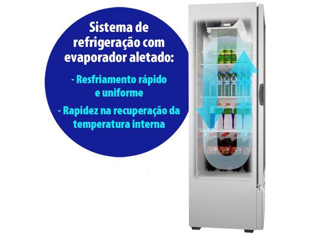 Imagem de Expositor de Bebidas Vertical Metalfrio 350L