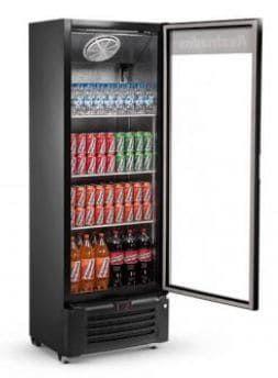 Imagem de Expositor Refrigerado de Bebidas Vertical 410L Visa Cooler VCM410 - Refrimate