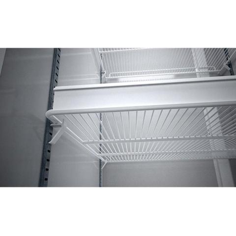 Imagem de Expositor/Refrigerador Vertical Meltalfrio 406 Litros VB40RL Vitrine, Porta de Vidro, Branco
