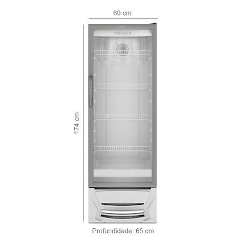 Imagem de Expositor Vertical 300 Litros Venax VV300 Porta Vidro
