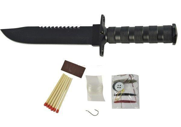 Imagem de Faca Militar Rambo - Kit de Sobrevivência Mod. SLK-450