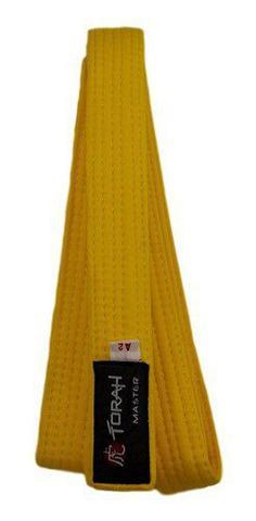 Imagem de Faixa De Kimono Adulto Amarela Torah
