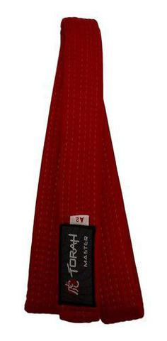 Imagem de Faixa De Kimono Adulto Vermelha Torah