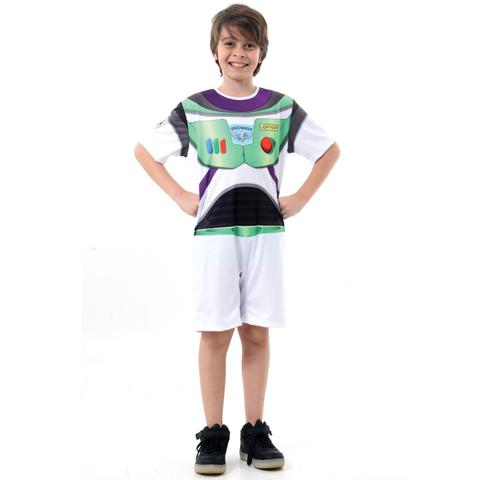 Imagem de Fantasia Buzz Lightyear Curto Infantil - Toy Story