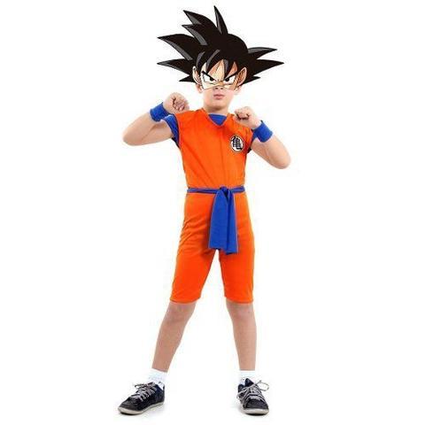 Imagem de Fantasia Goku Dragon Ball Cosplay Infantil