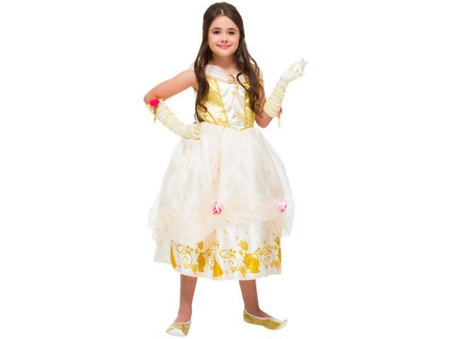 Imagem de Fantasia Infantil Bela Luxo Tam. G