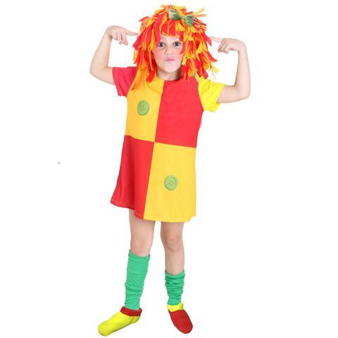 Imagem de Fantasia Infantil - Emilia Luxo - Tamanho M (6 a 8 anos) - 938602 - Sulamericana