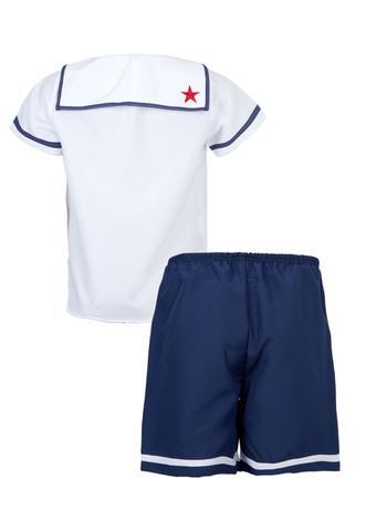 Imagem de Fantasia Marinheiro Infantil - Profissões