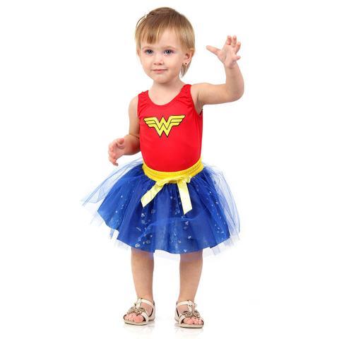Imagem de Fantasia Mulher Maravilha Bebê - Dress Up