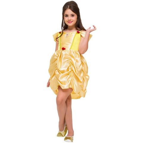 Imagem de Fantasia Princesa Bela (Bela e a Fera) Infantil Classic Rubies