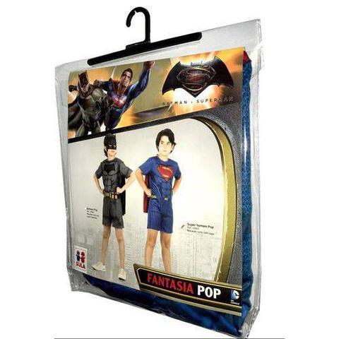 Imagem de Fantasia Super Homem Curto Com Musculatura G 10891 - Sulamericana
